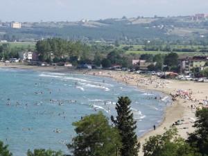 Hamsilos Tatil Köyünün hemen önündeki harika plaji